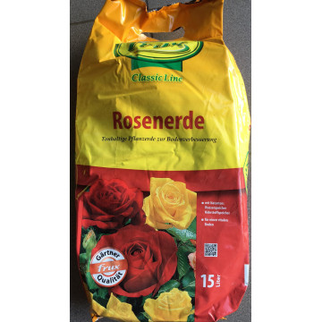 POTTING soil a bag of 15 L
