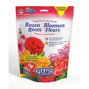 Doypack VIANO roses et fleurs